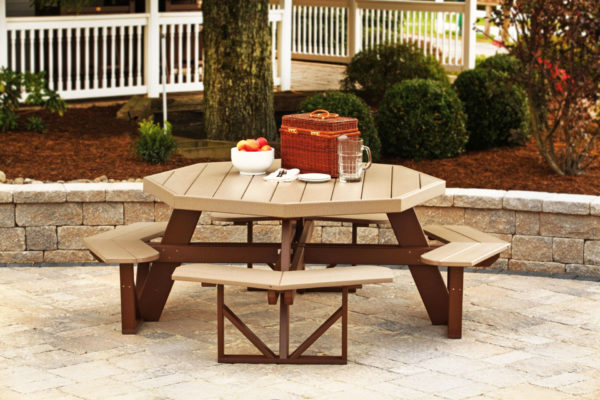 outdoor patio furniture poly picnic table