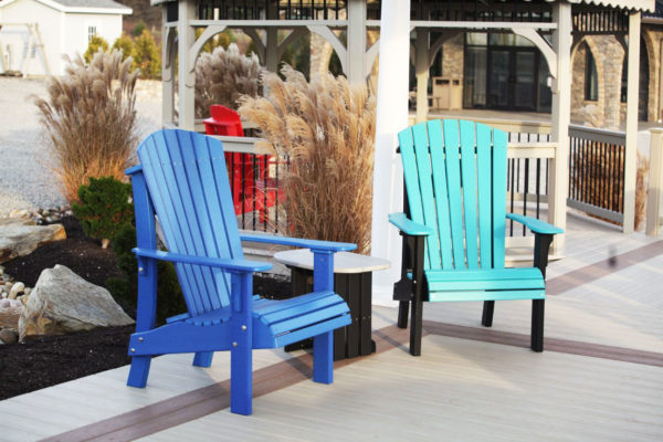 outdoor patio furntiure poly patio chairs