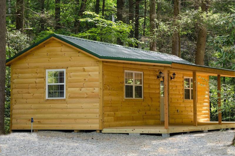 cabin sheds in greenville sc