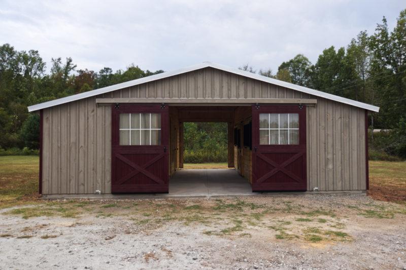 buy a trailside horse barn