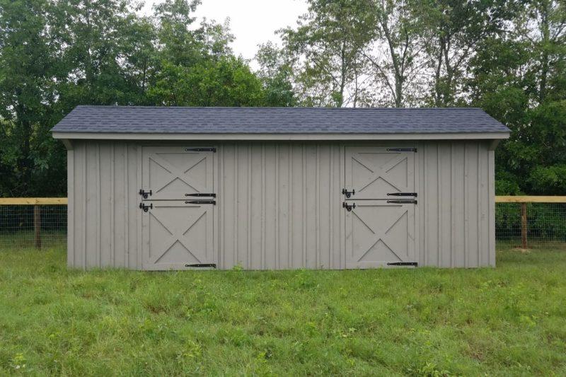 shed row horse barn for sale south carolina