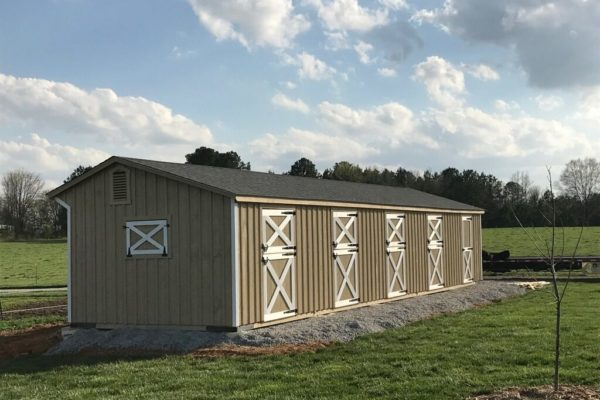 buy a shed row horse barn