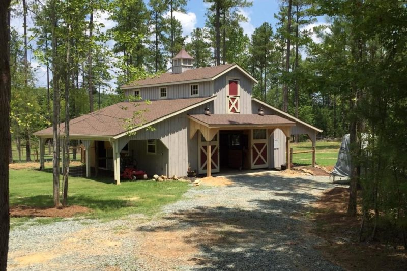 monitor horse barns for sale in johnson city