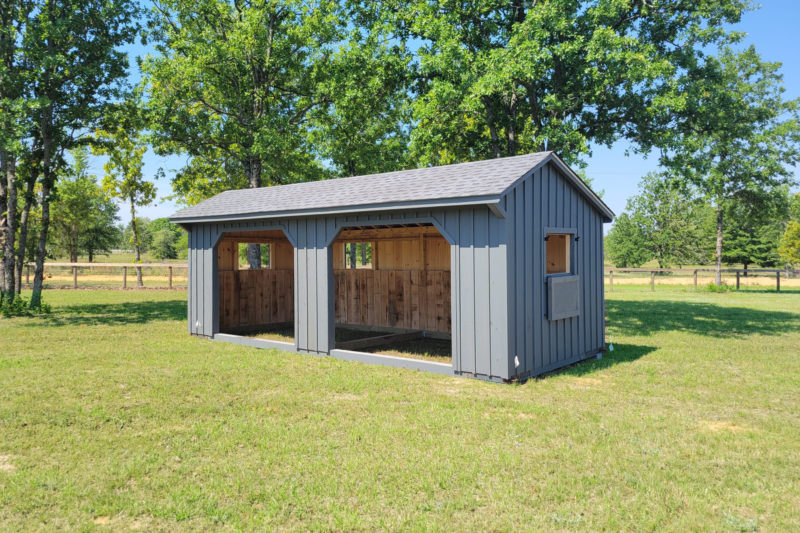 run in horse shed for sale