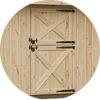 Dutch Door shed row horse barn